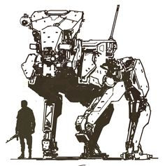 "ajtron: ""Metal Gear Roo""Concept art for Metal Gear Online."