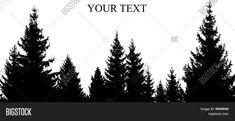Pine Tree Vectors, Stock Photos & Illustrations | Bigstock