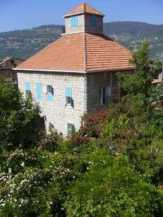 Lebanese Homes & Houses...traditional shutters