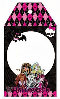 Fazendo a Propria Festa: KIT MONSTER HIGH HALLOWEEN