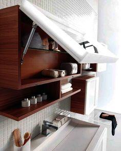 Muebles prácticos para organizar el baño