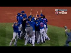 CUBS WIN WORLD SERIES 2016! FINAL OUT! GAME 7 - YouTube