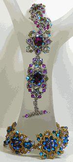 B130524 Crimson Queen Bracelet