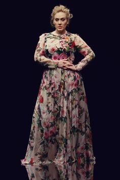 "Adele x Dolce and Gabbana Adele in ""Send My Love (To Your New Lover)."""