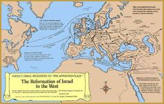 The Migration of Israel: The people who try to claim they are God's Chosen People a.k.a. the jews are none other than the seed of the Serpent and are Canaanite imposters. The jews