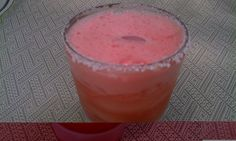 Clean Watermelon Margarita  Aren't you inspired by the name of this recipe? It gives you hope, doesn't it?  Seriously, margaritas truly make the world a better place.    Ingredients:    2 1/2 cups diced watermelon    3 oz. silver tequila    1 Tbsp.. agave nectar    1/8 c. fresh lime juice    Instructions:    Toss all ingredients in a blender. Blend until smooth. Pour into salt rimmed glasses filled with ice. Smile and enjoy!    Makes 2 servings.