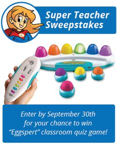 Have you entered our September contest yet? You won't want to miss your chance to win an awesome interactive quiz game for your students! Teacher Worksheets, Grammar Worksheets, Spelling Lists, Learning Resources, Math Games, September, Students, Classroom, Awesome
