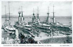 Regia Marina - RMN Taranto, Caio Duilio, Giulio Cesare, Andrea Doria