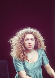 Alex Kingston as Desdemona in Shakespeare's Othello, 1993.