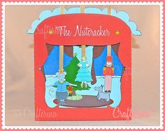 Nutcracker Puppet Theater Printable PDF Kit  DIY by Crafterina, $4.50 www.Crafterina.com