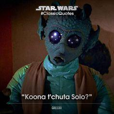 Star Wars greedo
