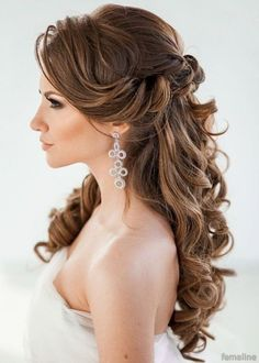 Elegant bridal hairstyles for long hair (23)