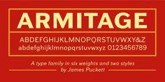 Armitage™ font download
