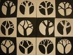 Negative/Positive Trees