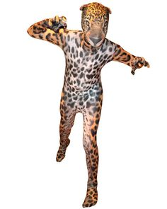 Jaguar Morphsuit Adult Costume