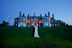 Crane Estate Wedding Ipswich MA. Lighting done by GrooveEvents.us