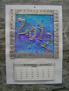 idée pour calendriers  avec calendrier a imprimer