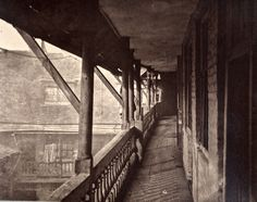 Ghosts of Old London. (Image appears to be of the old Oxford Arms Inn. There are several more views on this site.)