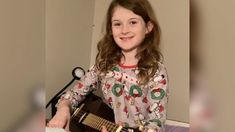 Little girl sings coronavirus song on her guitar to help her express her anger Little Girl Singing, Little Girls, Lara Spencer, Ginger Zee, North Liberty, Amy Robach, Robin Roberts, Michael Strahan, Corona