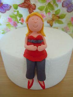 Cake Trails...: How to make a simple fondant figure {Tutorial}