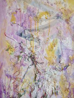 Ascension, Mixed Media on Canvas, by Sabrina Brett 10
