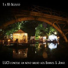 #yonos_dicas • De 1 a 10 de Agosto, a nossa LUCI vai conceder um novo brilho aos Banhos S. Jorge :D Não podem faltar... Saibam mais em http://www.yonos.pt/pt/articles/luci-concede-um-novo-brilho-aos-banhos-s-jorge #yonos_tips