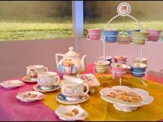 Como pintar en cerámica con estilo country Tea For One, Tea Pots, Pottery, Ceramics, Cake, Handmade, Food, Paint, Google
