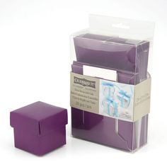 This item is sold individually in store.<br><br>The Favor Boxes with Lids by Celebrate It™ are i...