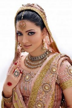 I would totally dress like this for my vow renewal. I'm not Indian, but the way the women dress is so beautiful!