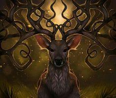 #celtic #god #pagan #cernunos #wild