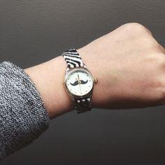 Montre avec bracelet brésilien DIY