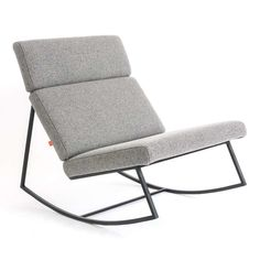 Gus Modern's take on the perfect modern rocking chair. The Gus Modern GT Rocker takes its design inspiration from the interiors of 1970s muscle cars (like the Ford Gran Torino, aka the Ford GT) as well as airport lounge seating.