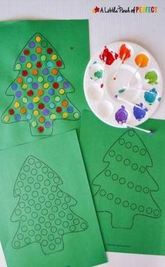 Christmas tree free printable activities for kids - - # Activities . , Christmas tree free printable activities for kids - - # Activities . Christmas Trees For Kids, Christmas Arts And Crafts, Christmas Tree Painting, Holiday Crafts For Kids, Preschool Christmas, Christmas Activities, Xmas Crafts, Christmas Christmas, Summer Crafts