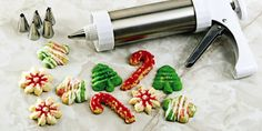 City Bakery Simple Cookie Press Cookies Recipe (CHEFS) | made with butter, powdered sugar, flour, and cornstarch