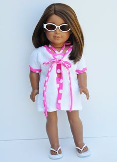 American Girl doll bathing suit by LoriLizGirlsandDolls