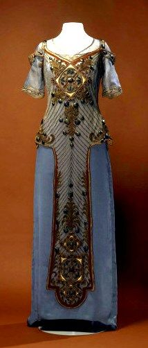 Callot Soeurs evening dress, 1910-15