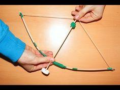 Como fazer um arco e flecha