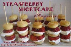 Strawberry Shortcake Sticks (frozen?)