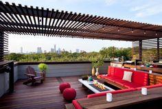 14 Amazing Rooftop Pergola Design Ideas