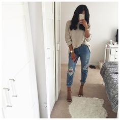 """5,567 Likes, 39 Comments - Charlotte Emily Sanders (@charlotteemilysanders) on Instagram: """"@lasulaboutique jeans """""""