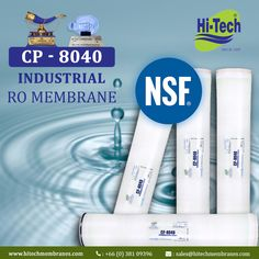 8040 Industrial RO Membranes. http://www.hitechmembranes.com/product/cp-8040/
