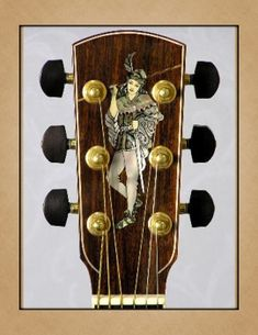 Larrivée Guitars - Inlay Artwork Guitar Inlay, Wine Rack, Guitars, Storage, Artwork, Furniture, Home Decor, Purse Storage, Bottle Rack