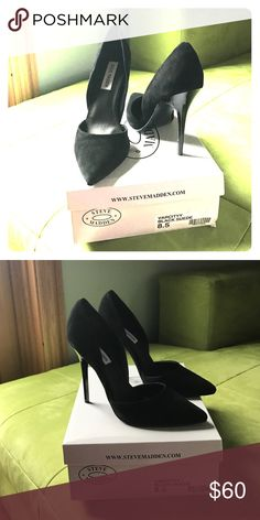 2ca775bc2d Brand new black Steve Madden pumps Never before worn Steve Madden heels.  Around 4 inches