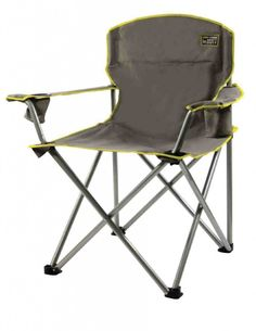 Heavy Duty Folding Armchair Camping Portable Outdoor Oversized Beach Seating New Outdoor Folding Chairs, Folding Camping Chairs, Outdoor Seating, Camping Furniture, Garden Furniture Sets, Outdoor Furniture, Modern Furniture, Paint Furniture, Rustic Furniture
