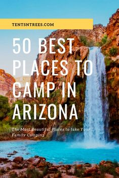 The best places to go camping in Arizona. This list will help you find awesome c. The best places to go camping in Arizona. This list will help you find awesome campgrounds and places to go camping in AZ. Best Places To Camp, Camping Places, Camping Spots, Camping Guide, Tent Camping, Places To Go, Camping Gear, Camping Packing, Camping Gadgets