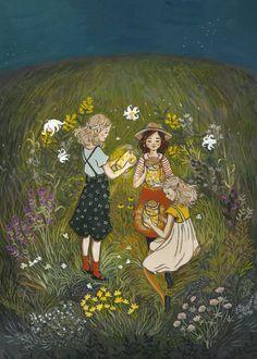 Fireflies Midsummer — Loré Pemberton