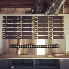 24 beautiful wall mounted taps www.tappedbeer.com