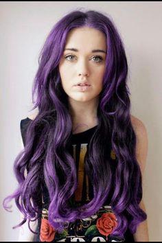 Lila hair