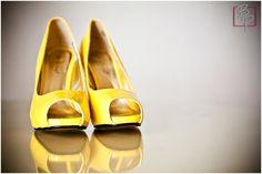 Yellow wedding shoes ;)