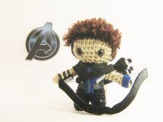 The Avengers Hawkeye Crochet Amigurumi Doll by chubbyninjacrafts, $30.00